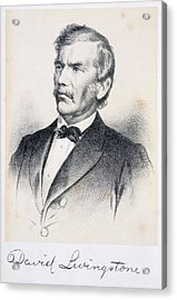 David Livingstone Acrylic Print by British Library