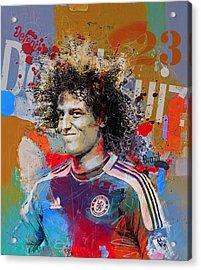 David Luiz Acrylic Print