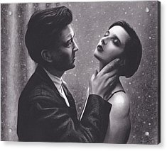 David Lynch And Isabella Rossellini Acrylic Print