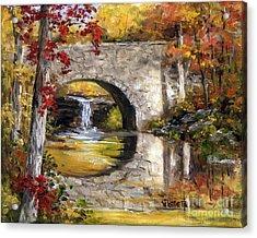 Davies Bridge November Acrylic Print