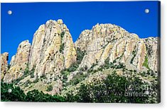 Davis Mountains Of S W Texas Acrylic Print