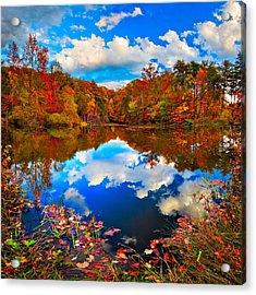 Davis Pond Reflections Acrylic Print