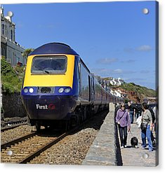 Dawlish Sea Front Acrylic Print by Craig Yates
