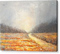Acrylic Print featuring the painting Dawn 1 by Jane  See