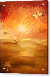 Dawn Acrylic Print by Angela A Stanton