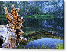 Acrylic Print featuring the photograph Dawn Arrives At Eagle Lake by Sean Sarsfield
