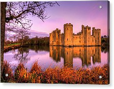 Dawn At Bodiam Acrylic Print