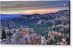 Dawn At Bryce Canyon Acrylic Print