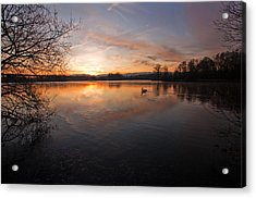Dawn At Haysden Acrylic Print