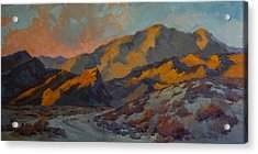 Dawn At La Quinta Cove Acrylic Print by Diane McClary