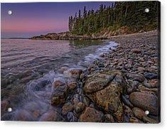 Little Hunter's Beach, Acadia National Park Acrylic Print