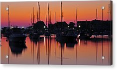Dawn At Oak Bluffs Acrylic Print