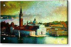 Dawn San Giorgio Maggiore Acrylic Print
