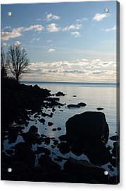 Acrylic Print featuring the photograph Dawn At The Cove by James Peterson