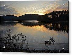 Dawn At The Lake Acrylic Print