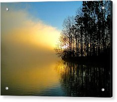 Dawn At Waters Edge Acrylic Print