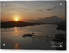 Dawn Break Acrylic Print by Gary Bridger