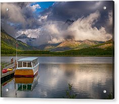 Dawn Delight Acrylic Print by Rob Wilson