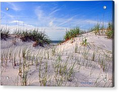 Dawn Dunes Acrylic Print