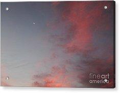 Dawn In Ixtapa Acrylic Print by Linda Queally