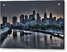 Dawn In Philly Acrylic Print