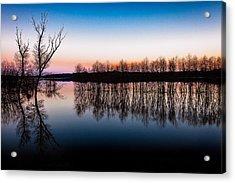 Dawn In The Flood Acrylic Print