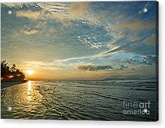 Dawn Island Acrylic Print