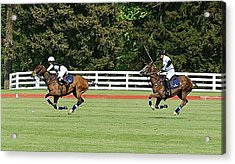 Dawn Jones At Prince Harry Polo Match Acrylic Print