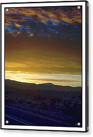 Dawn Of A New Day 2 Acrylic Print by Glenn McCarthy Art and Photography