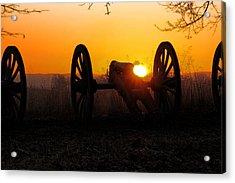Dawn On The Battlefield Acrylic Print