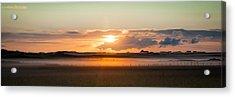 Dawn On Tiree Acrylic Print