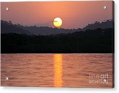 Dawn Over Darien Acrylic Print by James Brunker