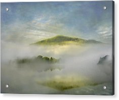 Dawn Over Lake Grasmere Acrylic Print by Adrian Campfield