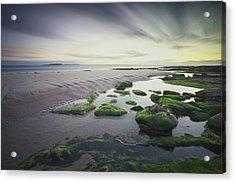 Dawn Over Seahouses Beach Acrylic Print
