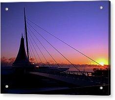 Acrylic Print featuring the photograph Dawn Over The Calatrava by Chuck De La Rosa