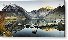 Dawn Reflections Acrylic Print by Andrew Soundarajan