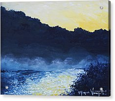 Dawn Reflections Acrylic Print by Monica Veraguth