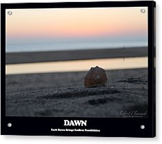 Dawn Acrylic Print by Robert Banach
