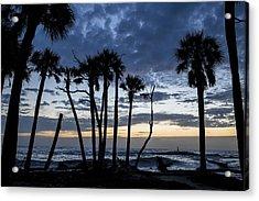 Dawn Silhouettes 01 Acrylic Print