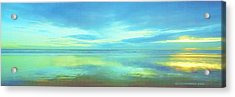 Acrylic Print featuring the painting Dawning Glory by Sophia Schmierer