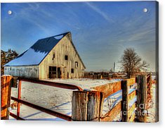 Dawns Barn Acrylic Print