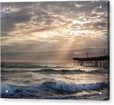 Dawns Ocean Rays Acrylic Print