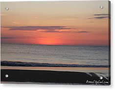 Acrylic Print featuring the photograph Dawn's Spreading Light by Robert Banach