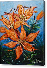 Day 21 Tiger Lily Acrylic Print