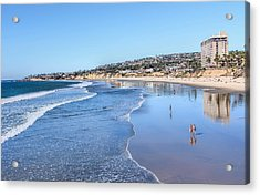Day At The Beach Acrylic Print by Tammy Espino