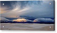 Day Break At White Sand Acrylic Print