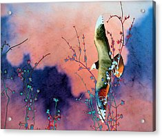 Day Dreaming Acrylic Print by Jan Amiss Photography