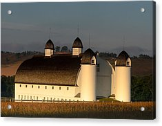Day Farm Barn Acrylic Print by Thomas Pettengill