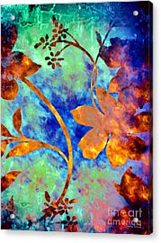 Day Glow Acrylic Print by Darla Wood