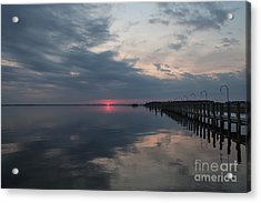 Day Is Done Acrylic Print